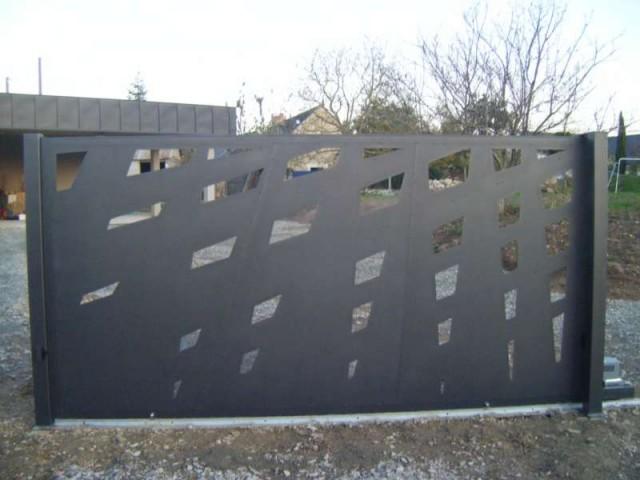 Portail : ferronnerie et métallerie d'art près d'Angers