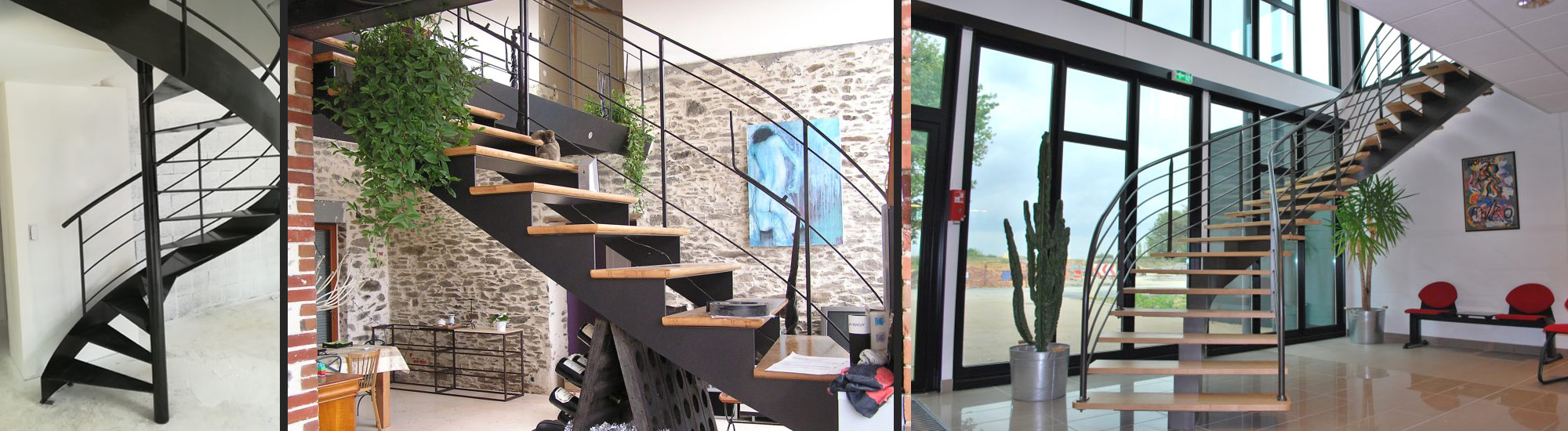 Fabrication Escaliers et Passerelles - Angers