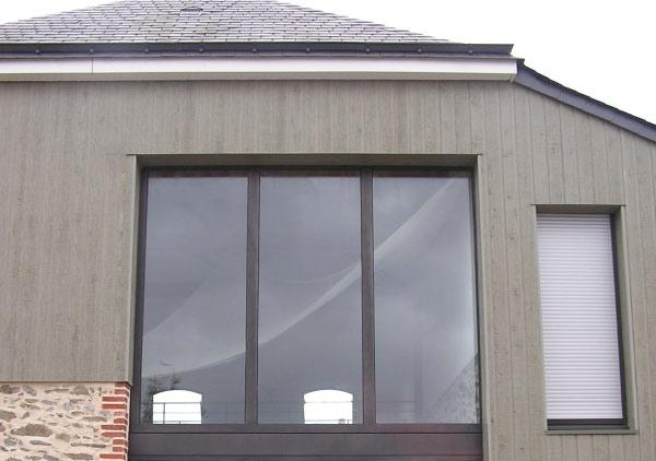 Fabrication et pose de façades vitrées Angers
