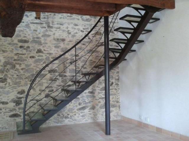 Fabrication escalier Angers : ferronnerie et métallerie d'art