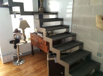 Escaliers métalliques et passerelles : ferronnerie et métallerie d'art Angers